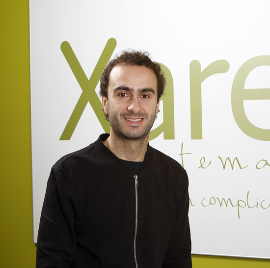 Administrador de Xare Sistemas, empresa de Donostia que ofrece servicios informáticos a empresas y asociaciones