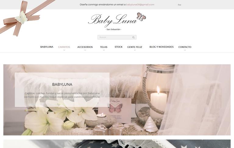 BabyLunaren webgune berria